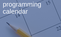 Image for                                              Programming Calendar